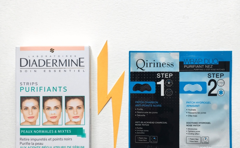 Strips purifiants Diadermine vs Wrap DuoQiriness