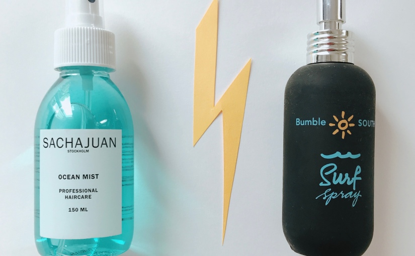 Ocean Mist Sachajuan vs Surf Spray Bumble & Bumble